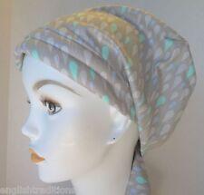 Rain Drops Chemo Cancer Hat Alopecia Hair Loss Scarves Turban Head Wrap Cover