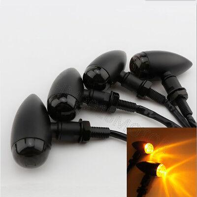 4x Universal LED Turn Signal For Kawasaki Ninja EX 250R 300 500 600 600R 650R ZX