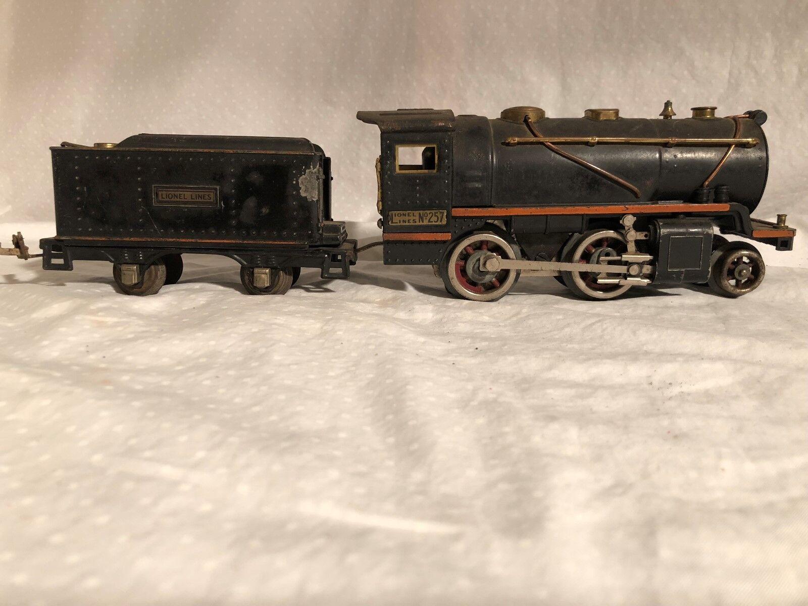 Lionel 257 Motor y licitación 1930s