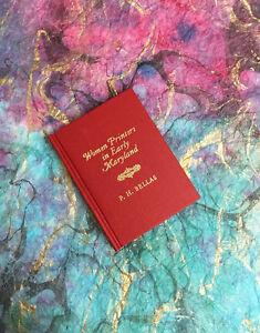Women-Printers-in-Early-Maryland-Xavier-Press-Ltd-Ed-Miniature-Book-w-Foldouts