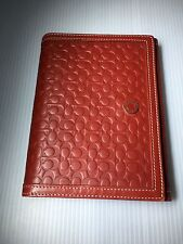 """Coach RED and White Photo Album 6.5""""x5"""" Photos Size 4x6-EXCELLENT CONDITION"""