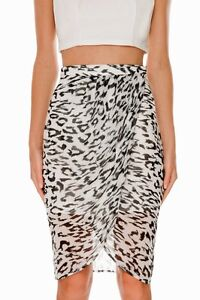 Finders-keepers-Stranger-In-Paradise-Black-White-Leopard-Wrap-Sarong-Sheer-Skirt