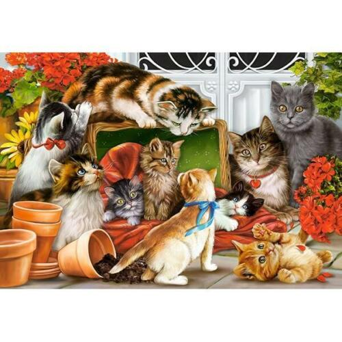 CASTORLAND 151639 1500 TEILE PUZZLE KITTENS PLAY TIME