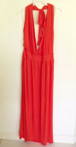 Halter Neck Pack Event Club Night Open Back Open Side Slit Long Dress XL//2XL//3X
