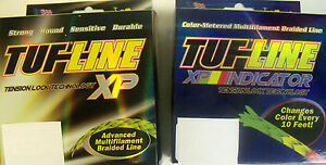 30 LB 300 YARDS TUF LINE XP SUPERBRAID FISHING LINE - CHOOSE COLOR