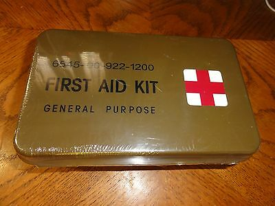 Military Style General Purpose First Aid Kit (Complete, New & Sealed in Box)