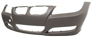 BMW-3-Series-2009-2013-E90-E91-Front-Bumper-Painted-Any-Colour-Black-Blue-Silver