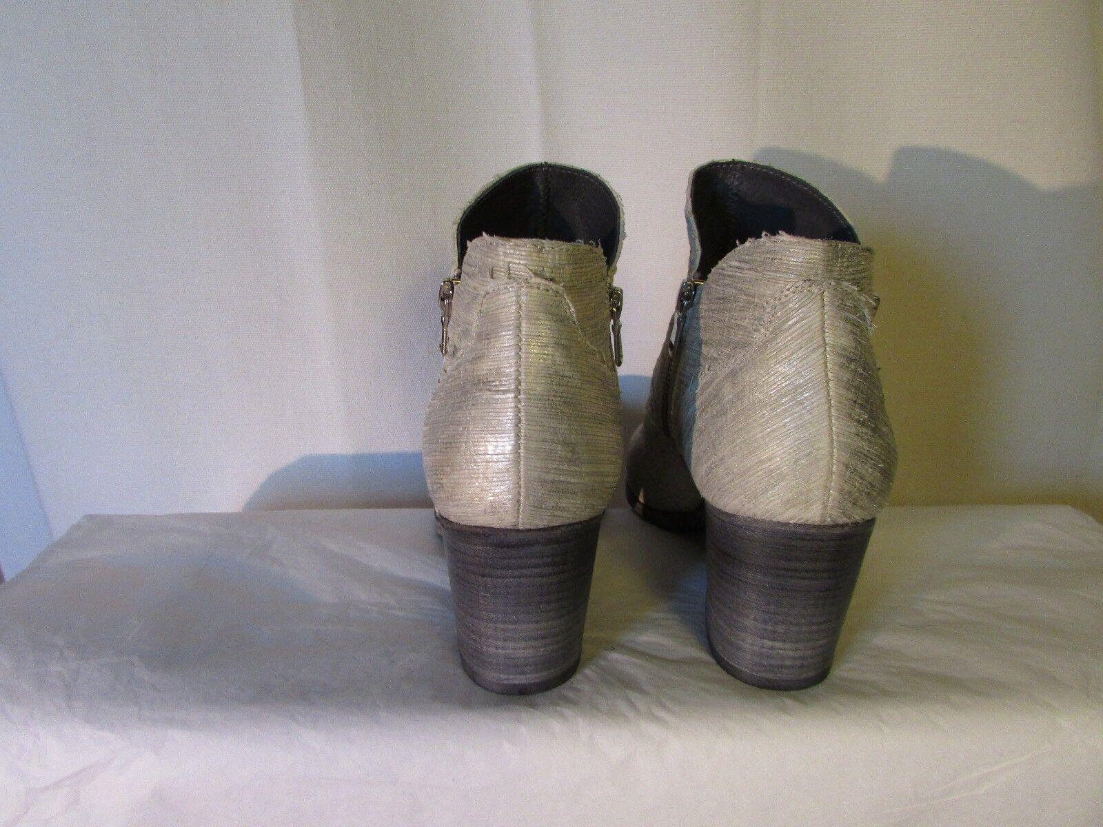 Los Los Los zapatos más populares para hombres y mujeres boots/bottines MIMMU cuir argent et métal 39 b3cd19