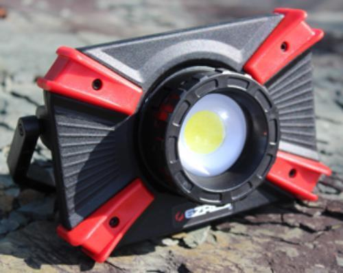 Ez Red XLF1000 Extreme Focusing 1000 Lumen Rechargeable Work Light