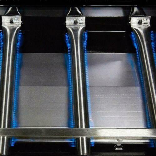 4 X Universal-Edelstahl-Rohr-Schlauch-Brenner BBQ Gasgrill Teile Ersatz