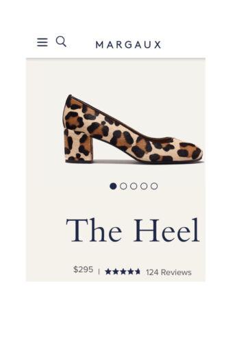 Margaux The Heel Leopard Block Heel