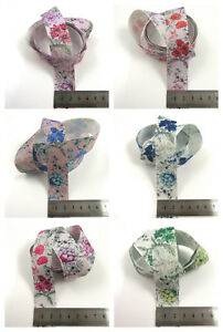 2-METRES-GROSGRAIN-RIBBON-25MM-6-COLOURS-VINTAGE-FLORAL-SHABBY-CHIC-WEDDING