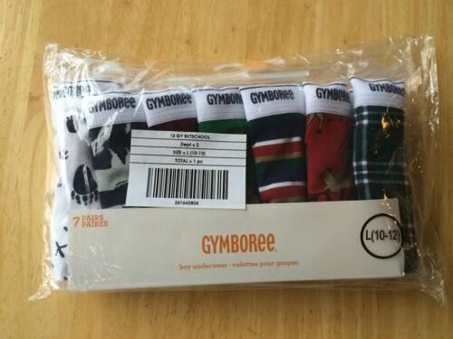 7//8 NWT Gymboree Boys Underwear 7pair//pack  Briefs 4,5//6