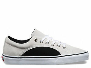 b17172be2c6 Brand New VANS Lampin 2-Tone Suede Unisex White Fashion Sneakers ...