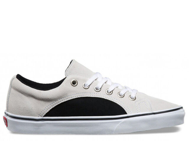 9fde1aa995 Brand New VANS Lampin 2-Tone Suede Unisex White Fashion Sneakers   VN0A38FIMVV