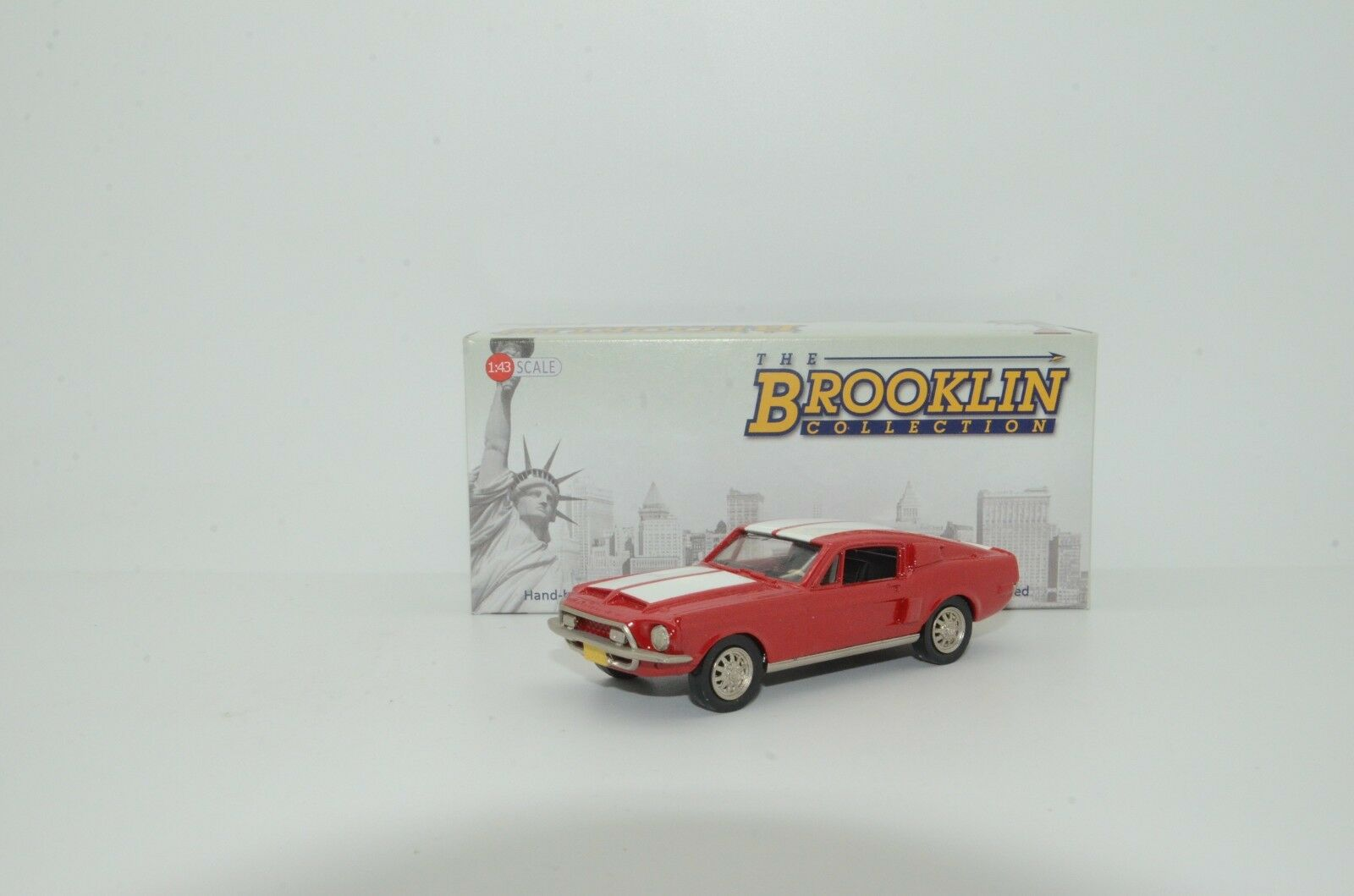 Mega Raro    Ford Shelby Mustang 1968 Brooklin BRK 24 Hecho a Medida 1 43