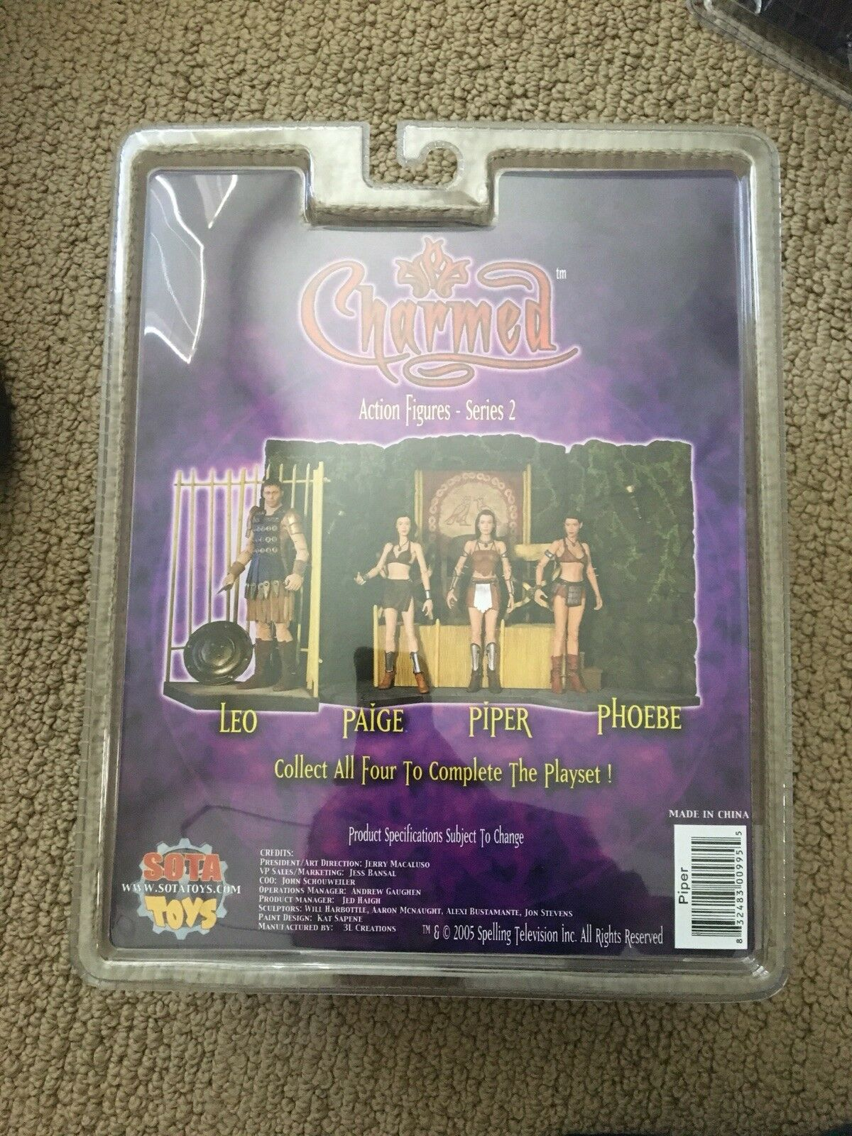 Charmed Piper Action Figure Series Series Series 2 b0493f