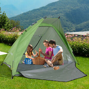 Portable Beach Tent Playing Sun Shelter Tent Anti-UV 2-3 Person