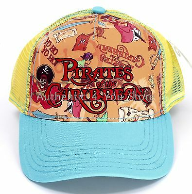 2017 Disney D23 Expo WDI Imagineering Adventureland Tiki Room Trucker Hat Cap