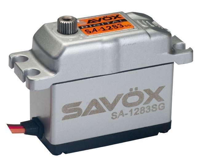 Savox Coreless Digital Servo .13 416 Metal Case - Savsa1283Sg