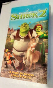 Shrek 2 Vhs Brand New Factory Sealed Mike Myers Eddie Murphy Ebay
