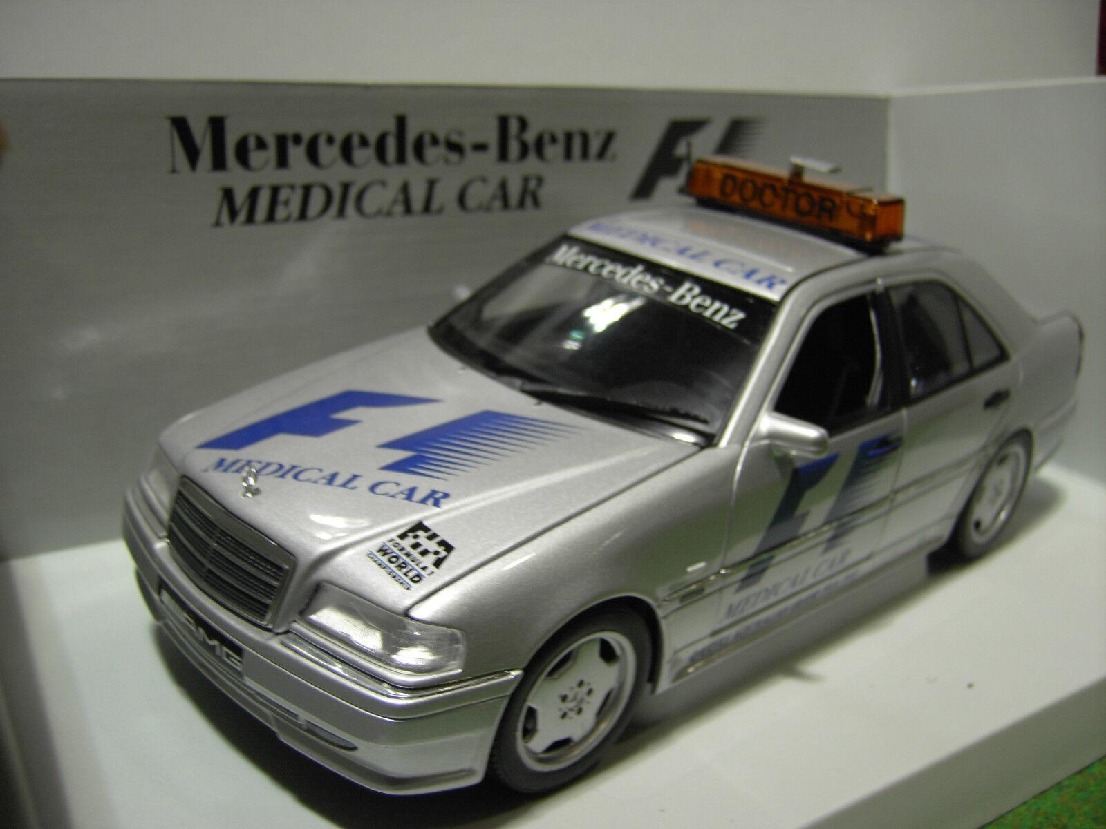 MERCEDES BENZ C CLASS AMG MEDICAL CAR au 1 18 UT Models 26106 voiture miniature