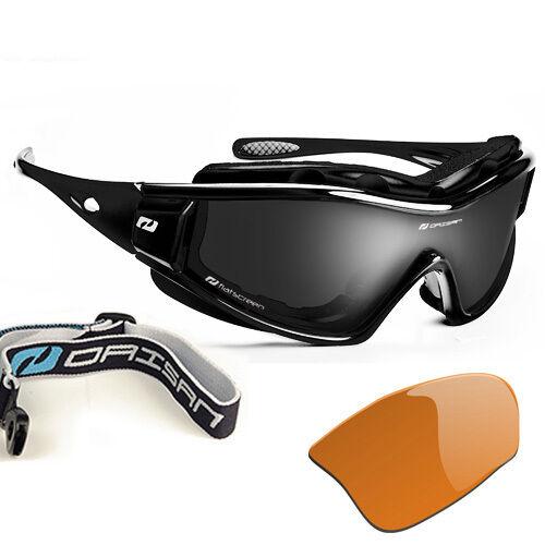 Sportbrille Gletscherbrille Gebirgsbrille abnehmbarer Windschutz Wechselscheibe