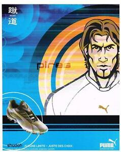 PUBLICITE ADVERTISING  2002   PUMA   BASKETS  PIRES
