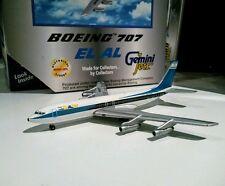 Gemini Jets GJELY186 El Al Israel Airline 1/400 scle Boeing 707-300 4X-ATS model