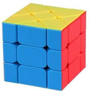 Zauberwuerfel-MoFangJiaoShi-MoYu-Fisher-Cube-stickerless-speedcube-magic-cube-neu