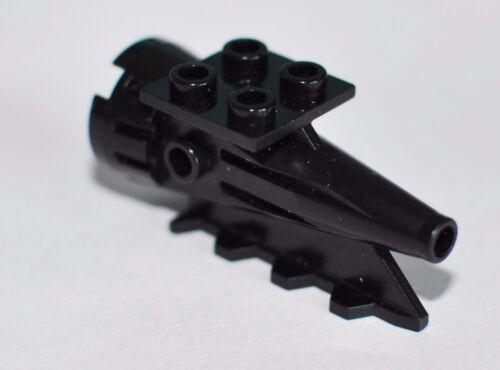 Lego Space Classic Triebwerk schwarz 4x2x2 Düse Rakete 4551 6959 4746