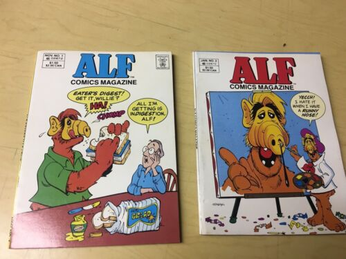These Are Near Mint Unread !!! Alf Digest #1,#2