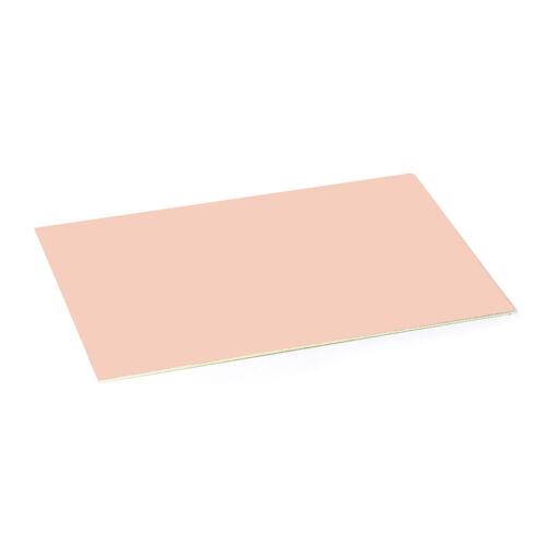 12x18cm One Side Glass Fiber PCB Copper Clad Plate Laminate Circuit Board 1.5mm