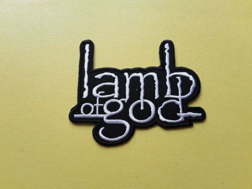 METAL MUSIC SEW ON /& IRON ON PATCH:- LAMB OF GOD ROCK POP PUNK