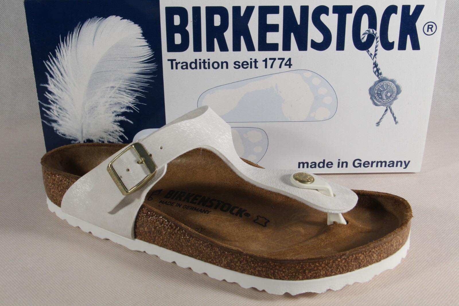 Birkenstock Damen Zehenstegpantolette Pantolette  normale Weite NEU!