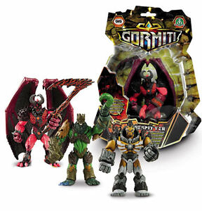Gormiti-Poseable-Monster-Action-Toy-Figures-Lord-Tasaru-Firespitter-Lord-Agrom