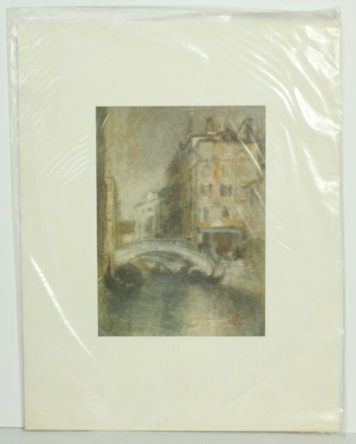Art 18x16 Inch James Whistler Impressionism American Motherart Print Without Return