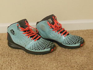 37a00b95f02a10 Adidas Rose 3.5 Chi Town Limited Release Blue Teal Red Black Size 14 ...