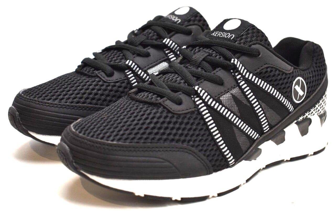 Xersion Zapatos Mujer Correr Correr Correr Negro blancoo EE. UU. tamaño 5M-Envío gratuito NUEVO  tiempo libre
