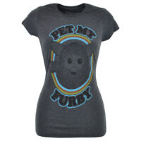 Pet My Furby Furbies Electronic Robot 90s Toy Junior Teen Tshirt Tee Grey