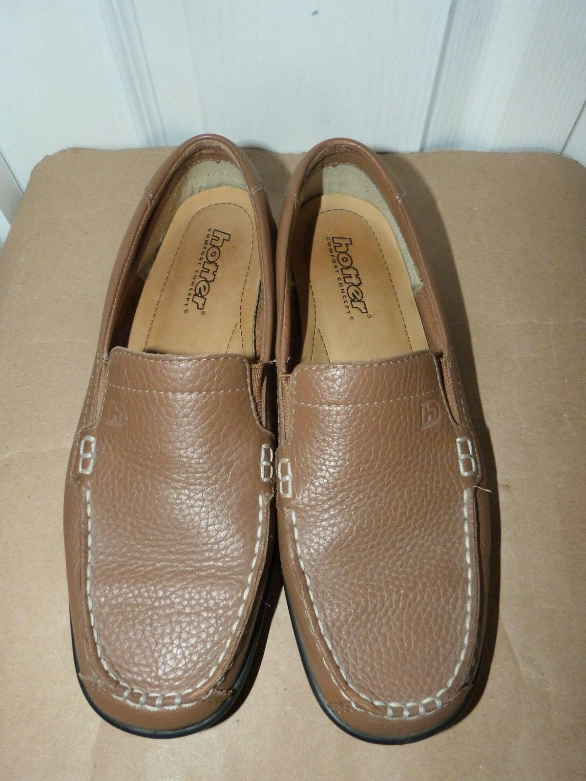 Mesdames Tan caramel Hotter Dash Moccasin Conduite Chaussure Taille 6 (39)