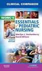 Clinical Companion for Wong's Essentials of Pediatric Nursing by Marilyn J. Hockenberry, David Wilson (Paperback, 2008)