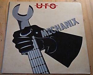 Ufo Mechanix Uk Chrysalis Proof Copy Earliest 1 11
