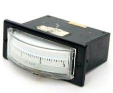 Vintage International Direct Current Amperes Panel Meter Gauge 0 3 Untested