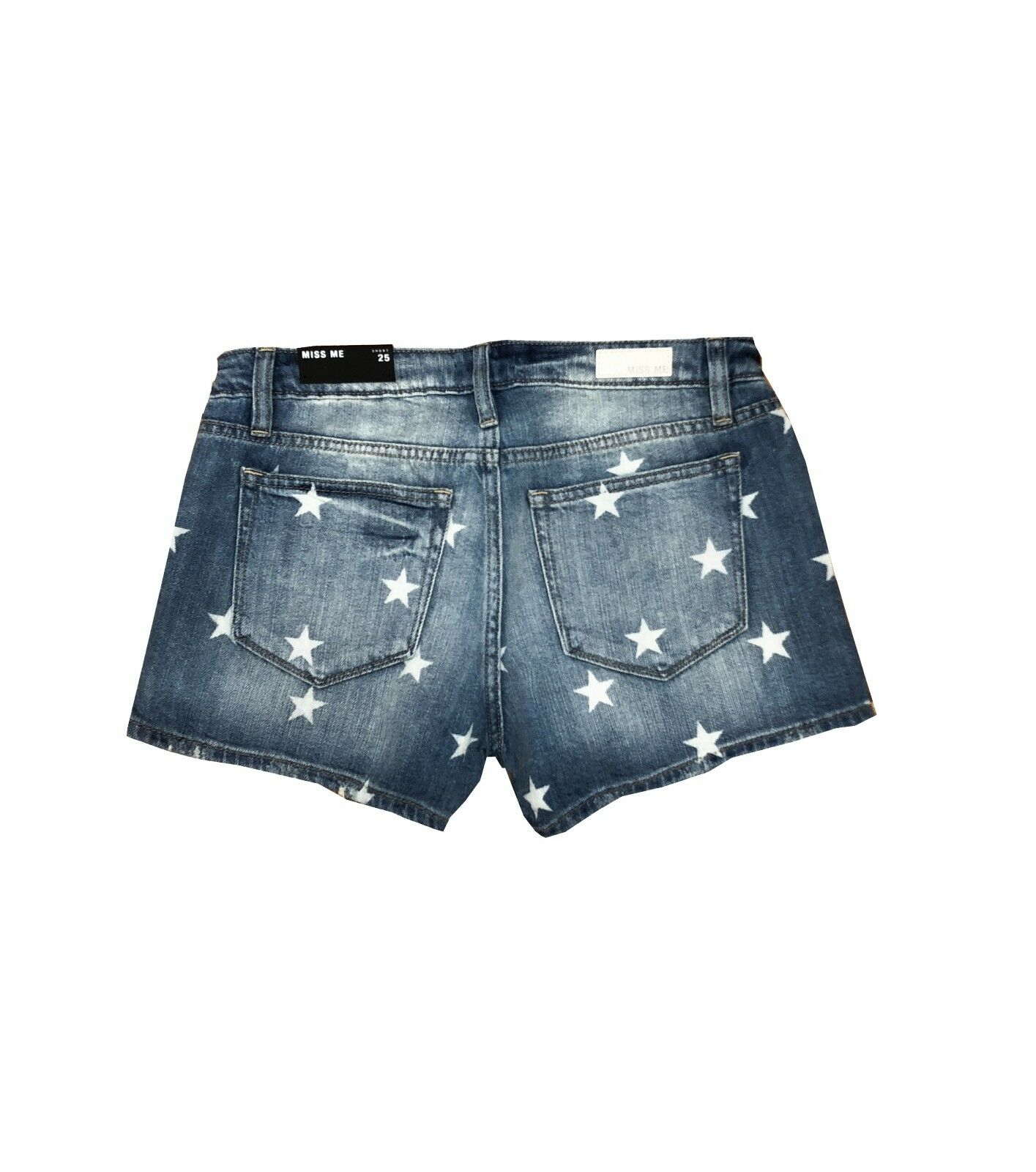 NWT MISS ME Women Shorts Jeans Seeing Stars Party Beach Hot Sexy Summer Denim