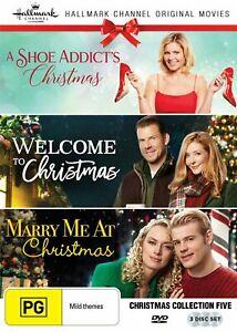 A-SHOE-ADDICT-039-S-CHRISTMAS-WELCOME-TO-XMAS-MARRY-ME-AT-XMAS-R1-DVD-Hallmark