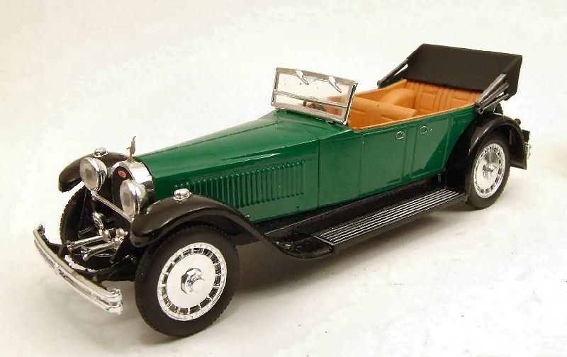Bugatti 41 royale 1927 grüne 1 43 modell rio4245 rio