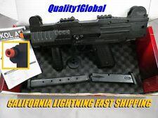 1:1 EKOL ASI FULL/SEMI PRO F-V Replica UZI MOVIE PROP Pistol Gun Training 2 MAG