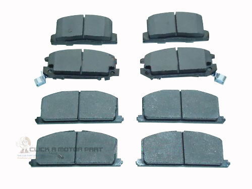 FRONT /& REAR BRAKE DISC PADS FOR TOYOTA MR2 MK1 1.6 86-90