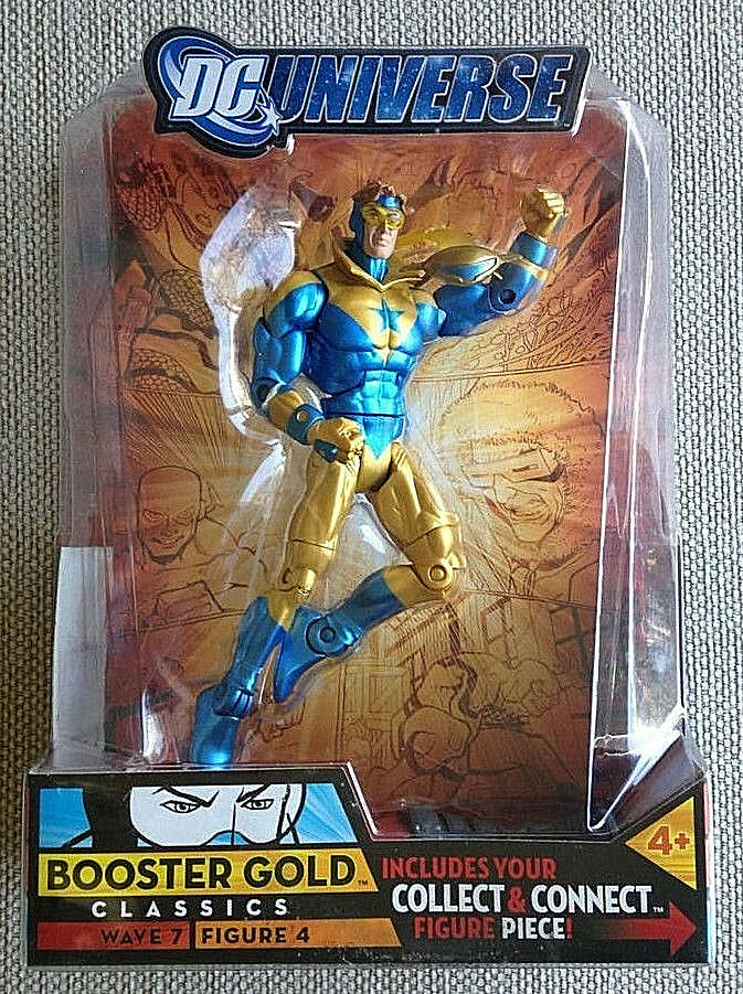 DC Universe Classics Series  7_BOOSTER GOLD 6 inch action figure with Collar_MIP